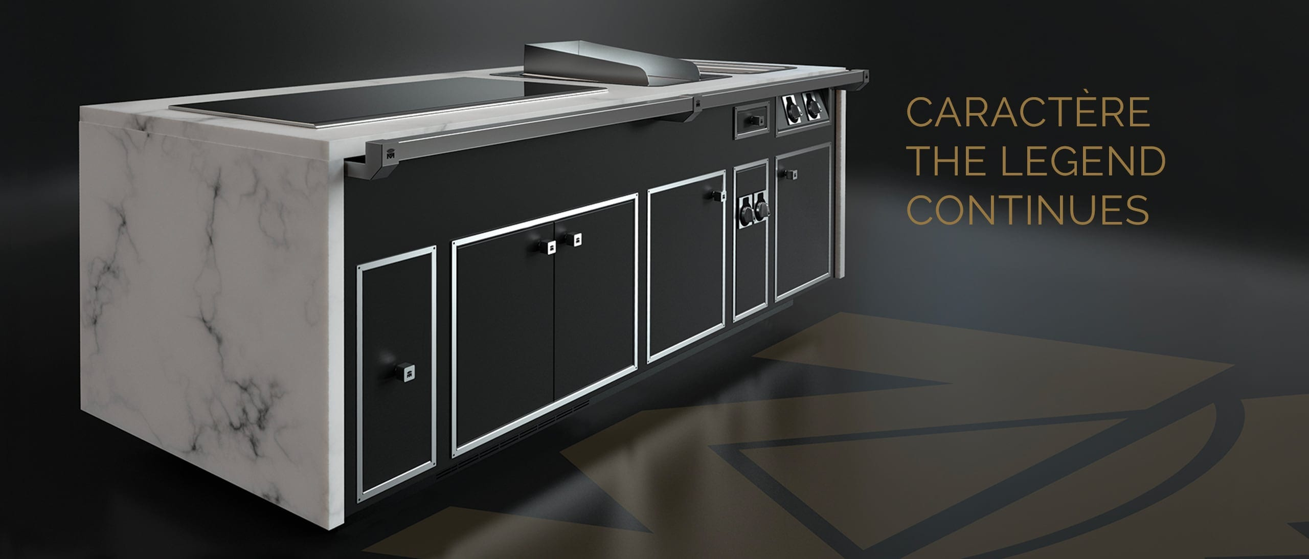 Molteni Caractère - Luxury professional stoves.