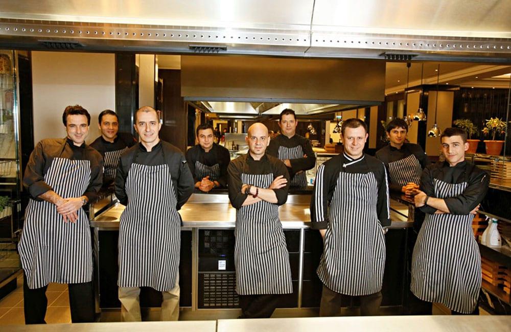 Hilton Bomonti Hotel Istanbul staff, Molteni