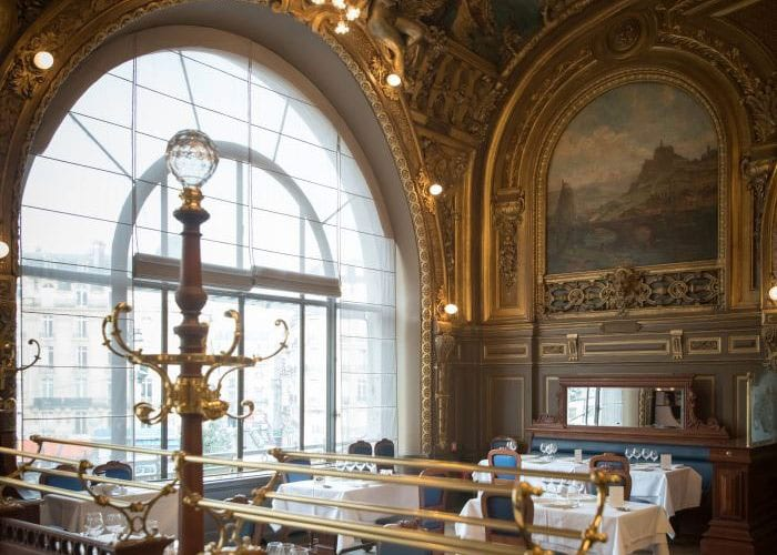 Le Train Bleu restaurant hall, Paris - Molteni