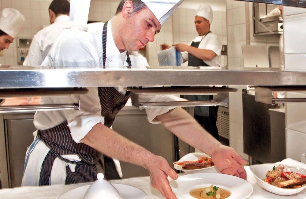 Quisisana Hotel Capri - Molteni chef