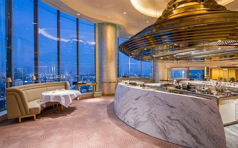 Chef's Table, Lebua Hotels & Resorts, Bangkok, Thailand